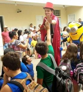 Escola Municipal Rosa Elsa Mertins de Taquara inicia ano letivo com melhorias no educandário