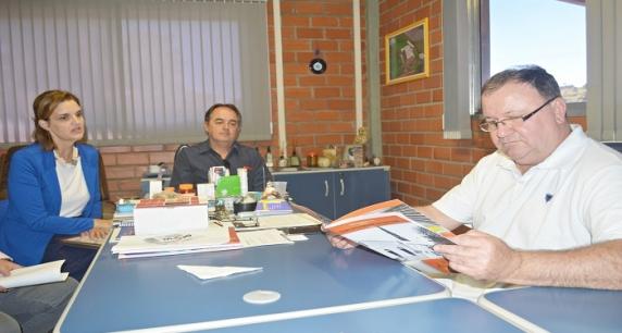Embutidos Smaniotto analisa possibilidades para patrocinar a revitalização da Casa Vidal em Taquara