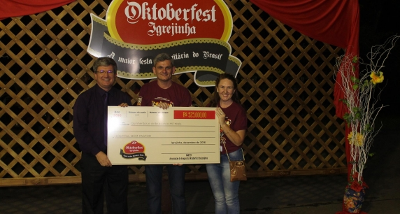 Hospital Bom Pastor é contemplado com R$ 550 mil da Oktoberfest