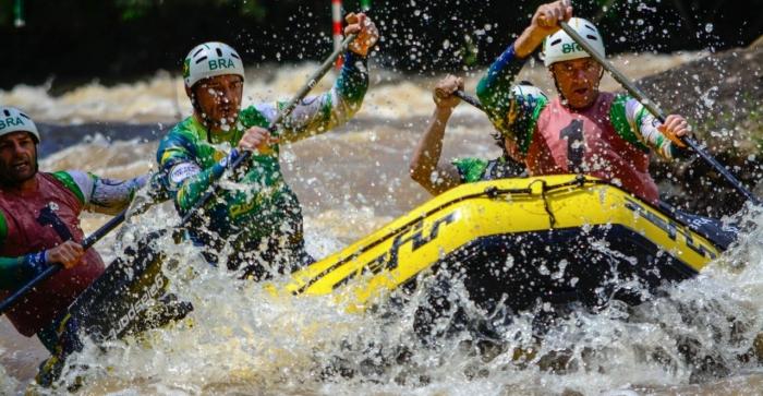 Equipe com atletas da região do Paranhana é destaque no Brasileiro de Rafting, categoria R4