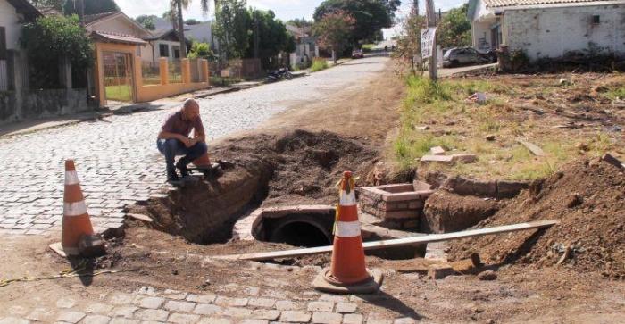 Trecho da rua Pinheiro Machado em Taquara receberá asfalto
