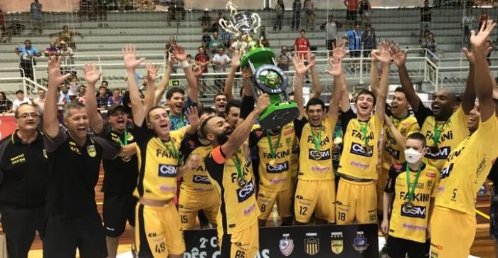Jaraguá vence a Copa Três Coroas de Futsal