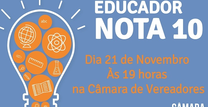 CÂMARA PREPARA EDIÇÃO DO EDUCADOR NOTA 10