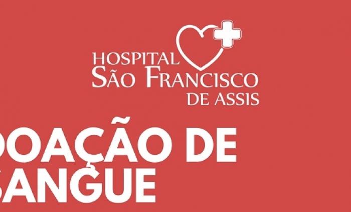 HOSPITAL SÃO FRANCISCO DE ASSIS LEVARÁ DOARES PARA O HEMOCENTRO EM PORTO ALEGRE