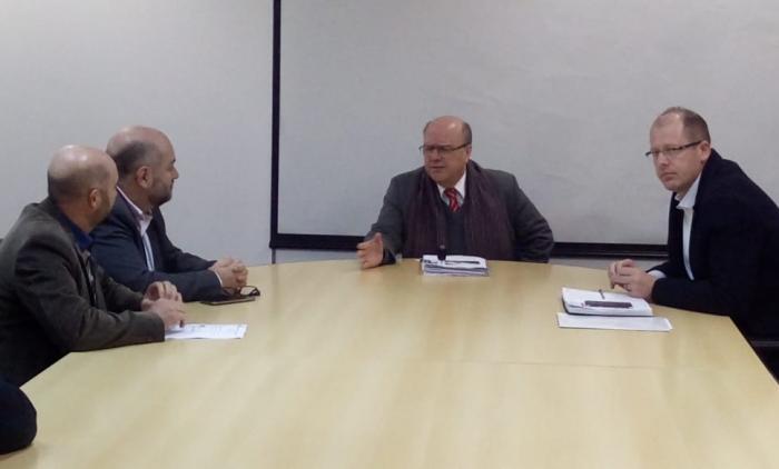 AUDIÊNCIA COM A SECRETARIA DE SEGURANÇA DO RS DISCUTE FORMAÇÃO DE POLICIAIS EM IGREJINHA