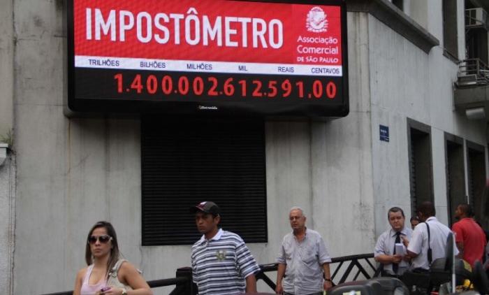 Brasileiros já pagaram R$ 1,4 trilhão de impostos em 2015