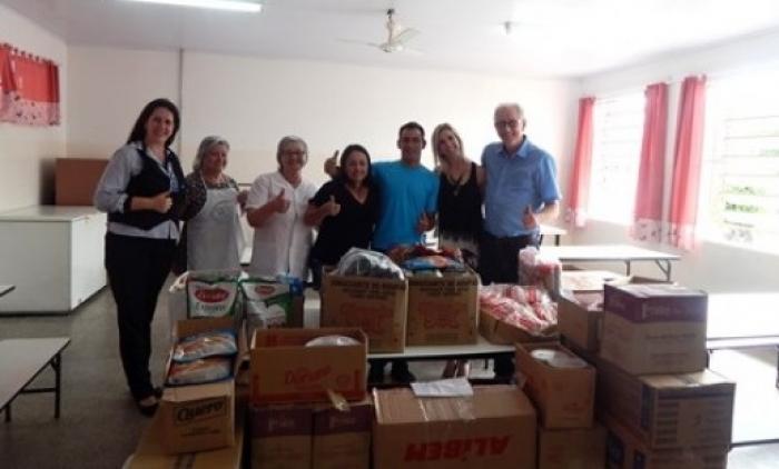 Escola Promorar recebe doações da CDL de Igrejinha e Três Coroas