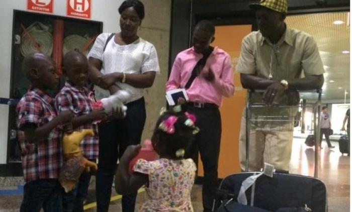 Após dois anos morando em Três Coroas, casal consegue trazer filhos do Haiti