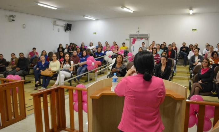 Parobé tem Campanha de Outubro Rosa