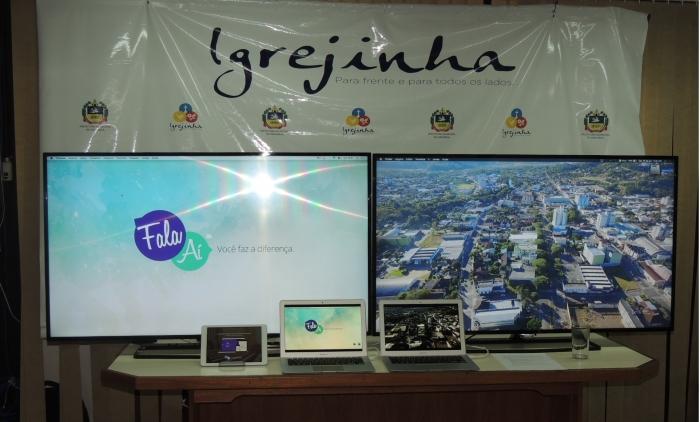 Lançada a nova plataforma do Fala Ai de Igrejinha