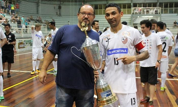 A Associação Carlos Barbosa vence a 1ª Copa Três Coroas de Futsal
