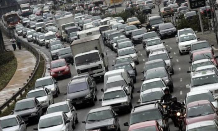 Frota de veículos diminui crescimento na região