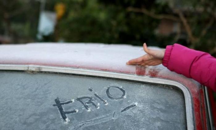 FIM DE SEMANA DE FRIO NO ESTADO
