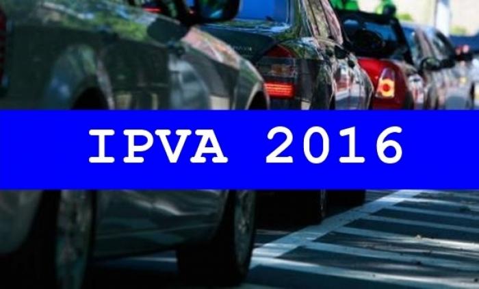 Começa a fase final de pagamento do IPVA 2016