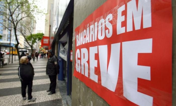 Agências bancárias paralisam atividades no Paranhana