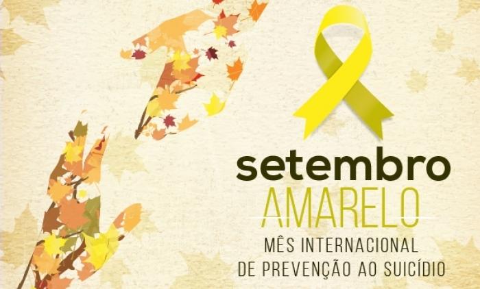 Atividades do Setembro Amarelo iniciam na Terça-feira
