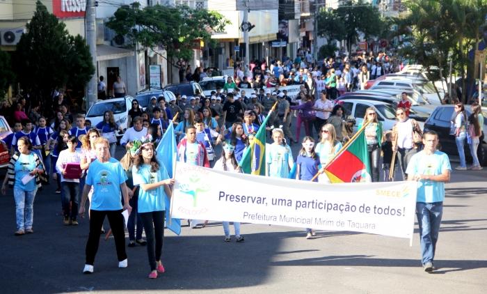 III Parada Ecológica ocorre no próximo sábado em Taquara