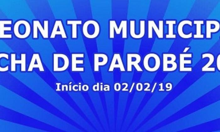 CAMPEONATO MUNICIPAL DE BOCHA DE PAROBÉ SERÁ EM FEVEREIRO