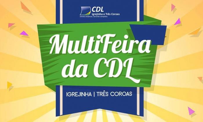 TRÊS COROAS TERÁ MULTIFEIRA DA CDL