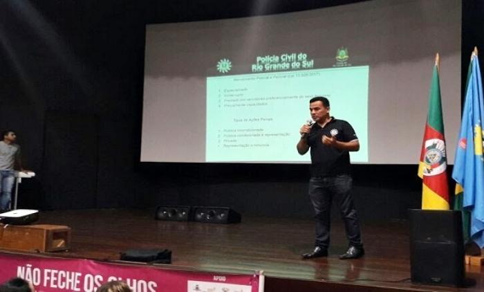 Agentes Comunitários de Saúde de Taquara participaram de palestra sobre violência contra a mulher