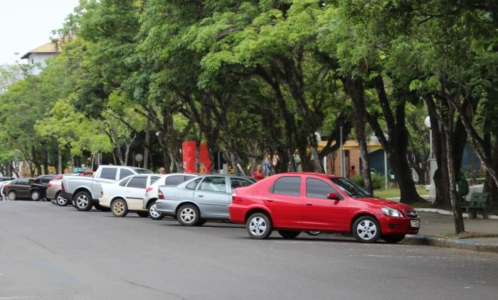 Novo horário para estacionamento na rua João Mosmann