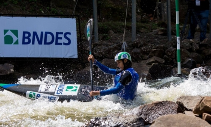 Final da Copa Brasil de Canoagem Slalom em Três Coroas