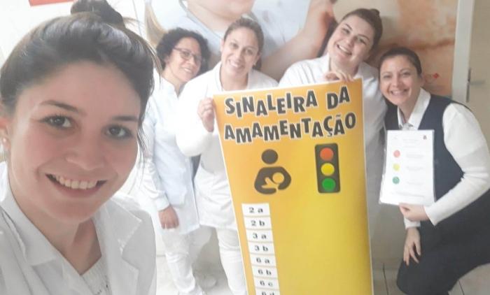 HOSPITAL DE PAROBÉ TEM AÇÃO EM PROL DO ALEITAMENTO