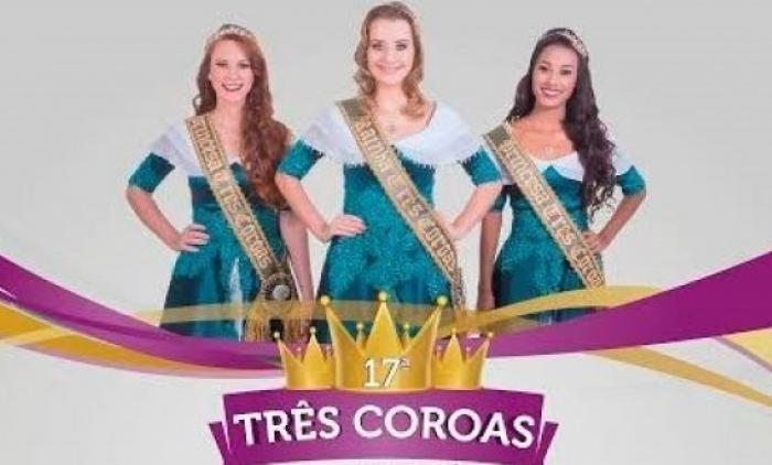 Dia 10 tem Escolha das Soberanas da 17ª Três Coroas em Festa