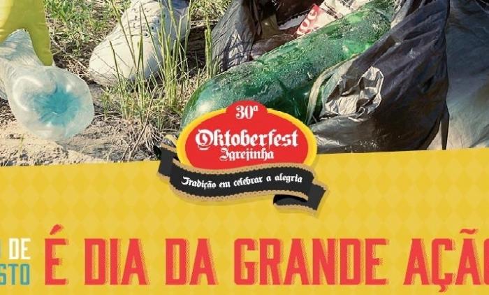 Grupos de Socialização da Oktoberfest de Igrejinha participam da Grande Ação do dia 19 de agosto.