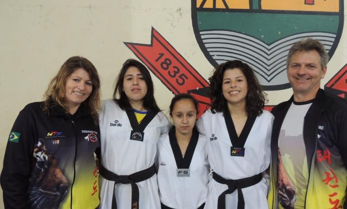 Parobeenses conquistam vitórias importantes no taekwondo
