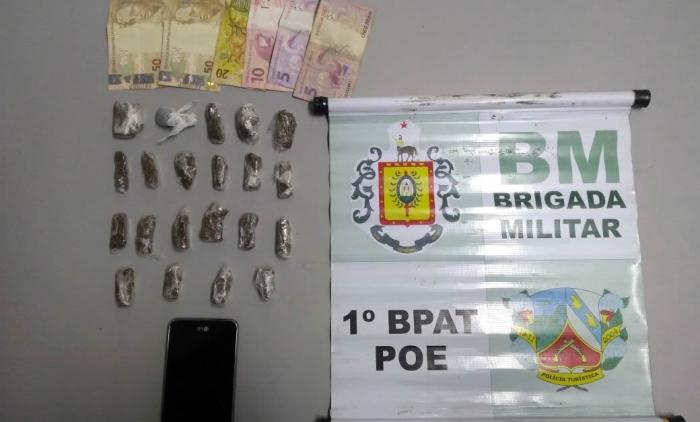 HOMEM É PRESO POR TRÁFICO DE DROGAS EM IGREJINHA