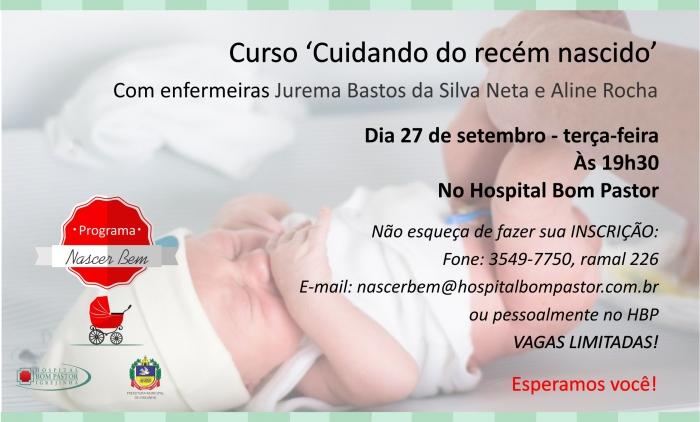 Programa Nascer Bem promove curso de recém nascido