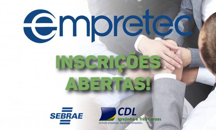 IGREJINHA TERÁ WORKSHOP GRATUITO DO EMPRETEC