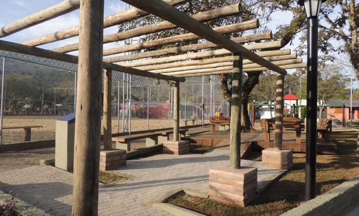 Inaugurada praça no bairro moinho em Igrejinha