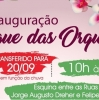 TRÊS COROAS TRANSFERE A INAUGURAÇÃO DO BOSQUE DAS ORQUÍDEAS